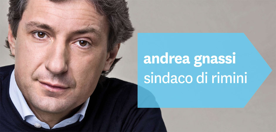 Andrea Gnassi Sindaco di Rimini